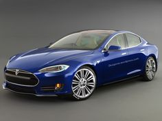 Tesla Model E Executive Saloon