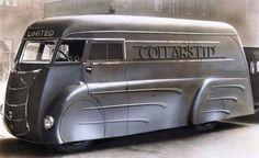 »✿❤Steampunk❤✿« Dieselpunk: Commer Holland Coachcraft van, 1933