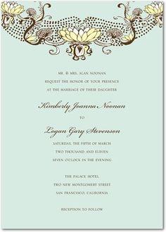 Vintage Magnolias by Wedding Paper Divas