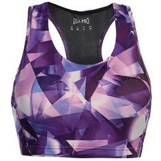 USA Pro Medium Sports Bra (€15) ❤ liked on Polyvore featuring activewear, sports bras, usa pro and purple sports bra