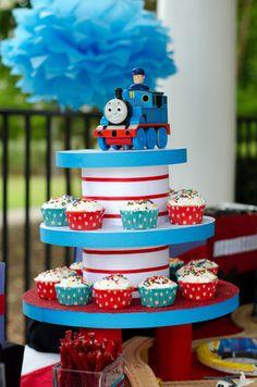 "Photo 2 of 10: Thomas the Train / Birthday ""Isaiah's Choo Choo Train Party"" | Catch My Party"