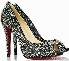 Crystal stilletos