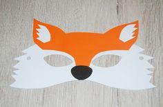 Výsledek obrázku pro maska liška Crafts For Kids, Crafts For Children, Kids Arts And Crafts, Kid Crafts, Craft Kids
