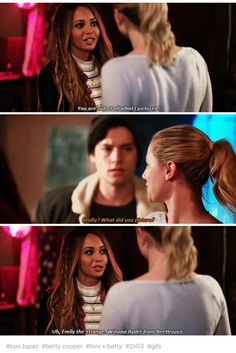 """Riverdale 2x03 """"Chapter Sixteen: The Watcher in the Woods"""""""