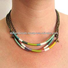 tribales étnicas hilo collar de gargantilla - spanish.alibaba.com