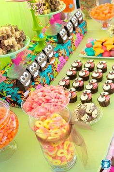Owl birthday party ideas