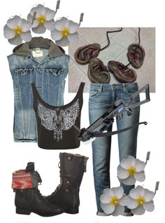 """""""Daryl Dixon"""" by erinha12 ❤ liked on Polyvore"""