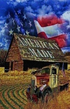 Somebody Got It Right!...Barn With American Made