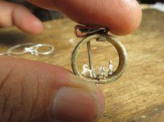 銀(925) 真鍮縦17㎜ 横19㎜|ハンドメイド、手作り、手仕事品の通販・販売・購入ならCreema。