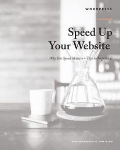 How to Speed up your website and blog, blog tips