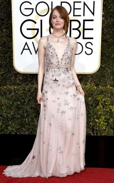 Best dressed at the Golden Globes 2017: Natalie Portman, Emma Stone and Nicole Kidman dazzle on the red carpet