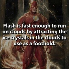 Who's the fastest: Flash or Flash?  #flash by dcfact