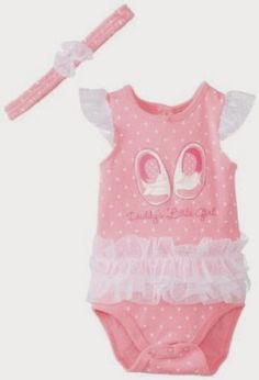 Kids Headquarters Baby-Girls Newborn Bodysuit with Headband You can buy for only $6.23 - 74% OFF!