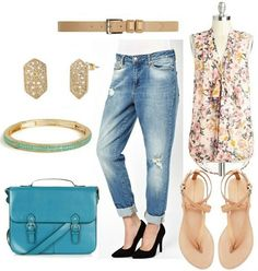 Class to Night Out: Distressed Boyfriend Jeans – College Fashion