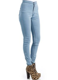 I need a pair of high waist skinny jeans this fall