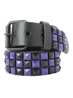 Add a little purple to your pyramid belt.