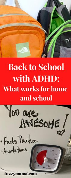 ADHD Strategies for Kids | Whether your kids are home, at school, or a combination of both, this guide for ADHD parents and their kids will give you strategies for transitioning back to school. This teacher and mom of two adhd boys tells you what works from 14 years of experience. Adhd Strategies, Teaching Strategies, Parenting Books, Kids And Parenting, Parenting Tips, Adhd Diet, Picture Writing Prompts, Behavior Modification