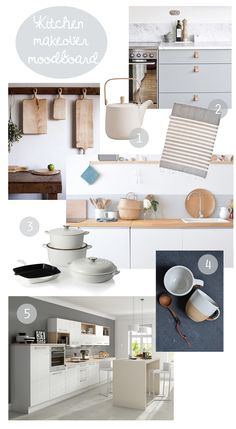 Kitchen makeover mood board | Neutral kitchen | White kitchen | Apartment Apothecary