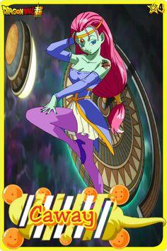 Caway- Team Universe 4. Dragon ball super