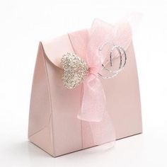 Pink satin favor boxes (Sacchetto from Italy) Favor Bags, Gift Bags, Favour Boxes, Wedding Favor Boxes, Wedding Bags, Wedding Tables, Wedding Album, Pink Satin, Pretty In Pink