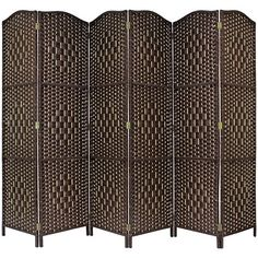 From 48.99 Hartleys Solid Weave Hand Made Wicker Room Divider - Choice Of Size & Colour