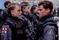 The game is based on both the 1997 movie Starship Troopers and the book Starship Troopers by Robert A. Heinlein. Description from snipview.com. I searched for this on bing.com/images