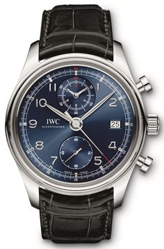 2014/8th - IWC Portuguese Chronograph Classic Laureus ref. IW390406