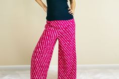 How to Make Palazzo Pants