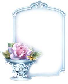 Flower Frame, Flower Art, Floral Frames, Flower Graphic Design, Inspiration Artistique, Boarders And Frames, Alcohol Ink Crafts, Birthday Frames, Frame Background