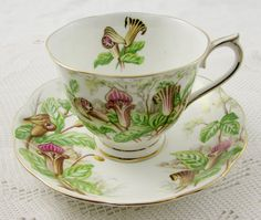 Royal Albert Jack-in-a-Pulpit Tea Cup and Saucer by TheAcreage