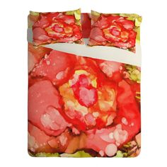 Rosie Brown Kiss From A Rose Sheet Set Lightweight   DENY Designs Home Accessories   #bed #sheets #bedding #bedroom #homedecor #art #denydesigns