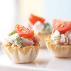 Turkey Salad Tartlets