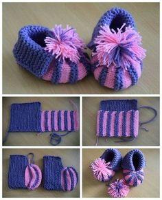 Buciki Dla Siostaka / Babys Shoes, Bab B - Diy Crafts