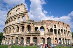 Top Foto: Das #Kolosseum in #Rom ist das größte geschlossene Bauwerk der römischen Antike