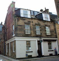 Ian Rankin's Inspector Rebus's favourite haunt: the Oxford Bar.