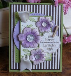 Love this card designed by Richard Garay... the stamp set is a must have!