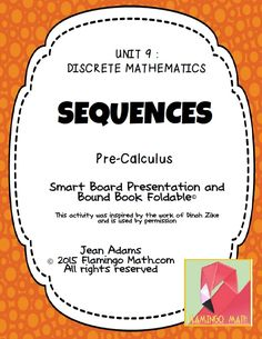 This lesson is designed for PreCalculus students. It is the first lesson in a three-lesson unit on DISCRETE MATHEMATICS. In this lesson, students will be able to express arithmetic and geometric sequences explicitly and recursively. They will also find limits on converging sequences.