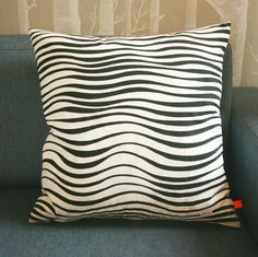 Putetrekk - sebramønstra Throw Pillows, Toss Pillows, Cushions, Decorative Pillows, Decor Pillows, Scatter Cushions