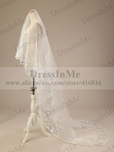 Cheap wedding advice, Buy Quality veil white directly from China veil netting Suppliers: 	  		  	Size: 300 cm, one layer	Color: ONLY Ivory available	Fabrics: Net and Lace Hem	Notes: It