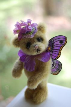 Cute Teddy Butterfly #bears, #toys, #teddies, #teddy…