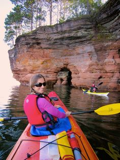 There are plenty of reasons to like Bayfield (pop. 500), starting with the Apostle Islands National Lakeshore, where ice and waves have sculpted the Great Lakes' most spectacular caves.