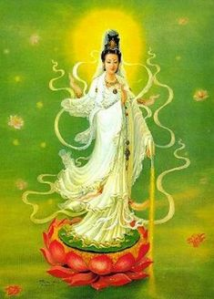 Dalla Blog: THE DIVINE MOTHER KWAN YIN IN VARIOUS ILLUSTRATORS IMAGINATION