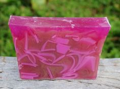 'PINK BULGARIAN ROSES' Arty Hand Crafted Organic GOATS MILK Soap with Olive Oil ANNIVERSARY WEDDING BIRTHDAY & CHRISTMAS GIFTS $6.50