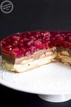 Polish Desserts, Sweets Cake, Wonderful Recipe, No Bake Cake, Summer Recipes, Baked Goods, Sweet Treats, Cheesecake, Dessert Recipes