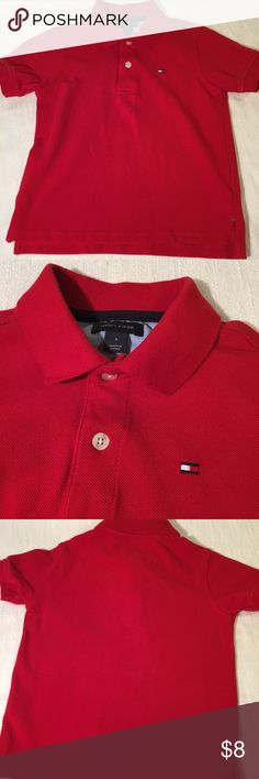 Tommy Hilfiger Uniform Polo Size 4T NWOT Tommy Hilfiger Uniform Polo  Size 4T 100% Cotton Shirt was never worn as it was a gift and my son doesn't wear uniforms or polos, it just hung in the closet.   Thank you for sharing and please reach out with any questions or concerns! Tommy Hilfiger Shirts & Tops Polos