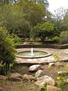 Little Fountain at Mercer Gardens Houston, Texas