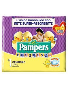Pampers Progressi - Newborn (2-5 Kg)€ 8,49
