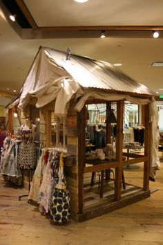"""anthropologie store displays 