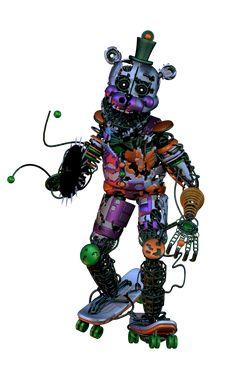 Scrap_Freddy_Full_Body by on DeviantArt Fnaf Drawings, Animal Drawings, The Living Tombstone, Star Wars Origami, Fnaf Oc, Fnaf Characters, Freddy 's, Fnaf Sister Location, Rpg Horror Games