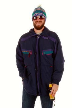 Helly Hansen Vintage Ski Jacket  | Get your vintage ski gear and all manner of outrageous threads at Shinesty.com